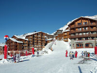 Ski-in/Ski-out in Val Thorens France