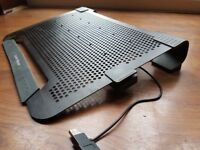 """Cooler Master Tri-Fan Cooling Pad for up to 17"""" Laptop"""