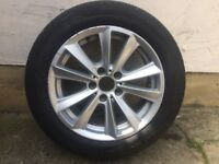 """1x Genuine 17"""" BMW 5 ,3,1 Series Year from 2010"""