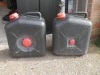 Caravan Waste Water Containers