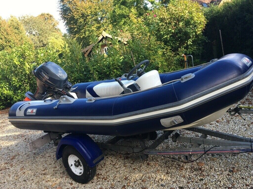 2009 Avon Rib 20 HP Yamaha 3 4m | in Marlow, Buckinghamshire | Gumtree