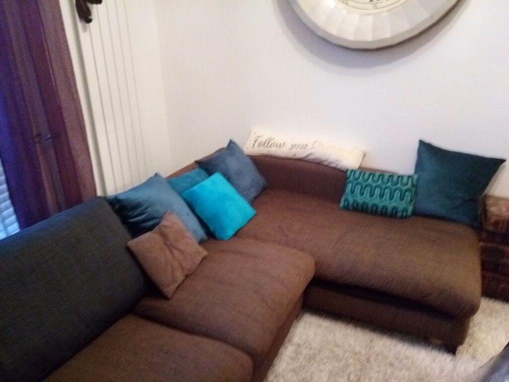 Super comfy DFS Corner sofa...
