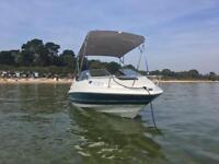 Bayliner Capri cuddy cabin, speedboat, boat, cabin