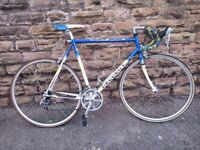 Peugeot Richard Virenque Edition Road Bike Racer Large - Easy Project - Shifters need sorting