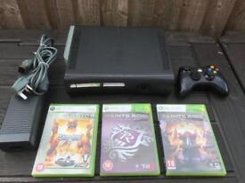 Xbox 360 console and saints row games
