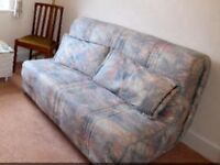 Sofa bed hardly used. Excellent condition.