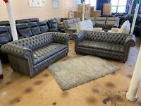 Chesterfield sofas aniline