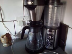 Ninja coffee multi maker with accessories and boxed use once .....but no room for it