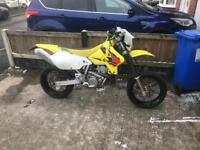 Drz 400s 2005 with on road and off road wheels
