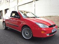 Ford Focus 1999 1.8i 16v Zetec 3 door 1 LADY OWNER, LOW MILEAGE, ST ALLOYS, BARGAIN