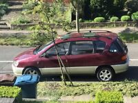Ultra-reliable Toyota PICNIC 7-seater Diesel (not Zafira, Verso, S-max, Scenic, Alhambra, VW) EXPORT