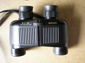 MIRANDA BINOCULARS 8 X 32 MINT CONDITION