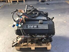 BMW E46 3 series M54B25 325i 2.5 Engine Motor Complete 2,494cc 189bhp - 325Ci Conversion - 05 91k