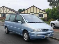 LHD Citroen evasion 2.0i Automatic french reg left hand drive FSH lady owner 14 years