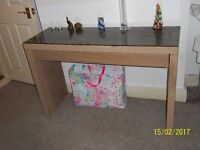 Coffee Table, Bedroom Table, Dining Room Storage/Television Stand, job lot all Ikea
