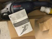Bosch 9inch angle grinder