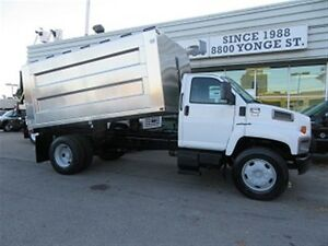2006 GMC Topkick diesel with new chipper dump