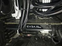 EVGA Nvidia Geforce 980Ti Hybrid cooled Graphics card Water cooled 6GB