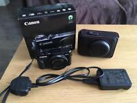 Canon G7X Mark II, boxed plus case and screen protector