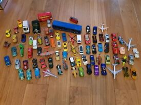 Job lot of diecast vehicles