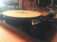 Rega RP6 turntable Rega Exact 2 cartridge , blue belt upgrade and cork mat barely used record player