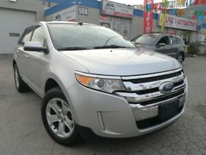 2013 Ford Edge SEL AWD_Navigation_Rear Camera_Panoramic Sunroof