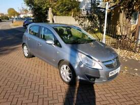 Corsa Design 1.4L 5DR 2008 long mot full service history excellent condition