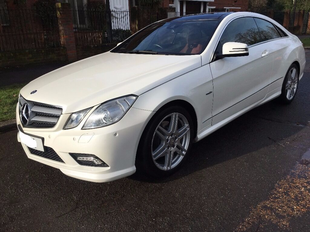mercedes benz e350 cdi coupe sport white red interior in harrow london gumtree. Black Bedroom Furniture Sets. Home Design Ideas