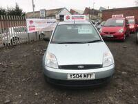 2004 04 FORD FIESTA FINESSE 1.4 TDCI LOW MILEAGE IMMACULATE THROUGHOUT £995 OPORATIONAL WARRANTY