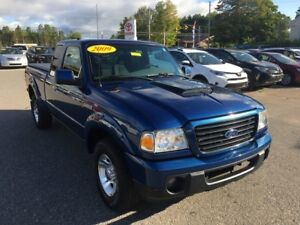 2009 Ford Range Sport V6 2WD ONLY $179 BIWEEKLY WITH 0 DOWN!