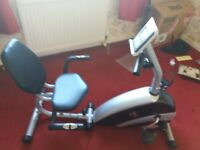 BST-RC RECUMBENT MAGNETIC EXERCISING BIKE