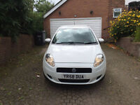 Stunning Fiat Punto White Facelift Model Immaculate Condition 1 Yr MOT Clio Corsa 107 207 Yaris Polo
