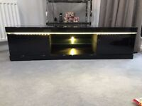 Black high gloss tv unit (from Atlantic range available at Very)