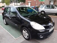 ** £30 TAX ** 50+ MPG ** 09 REG RENAULT CLIO 1.5DCi DYNAMIQUE TOUER ESTATE