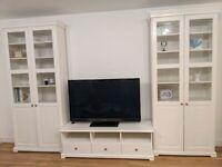 IKEA Liatorp TV bench & 1 x bookcase