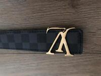 Brand new LV men's belt