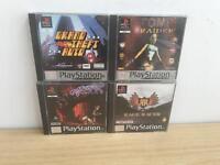 4x PlayStation 1 games includin Tomb raider & Gta