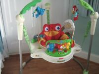 Fisher Price JUMPEROO (rainforest) good condition