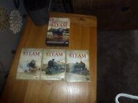 Dvd's British steam locomotives.