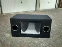Car sub subwoofer bass box enclosure