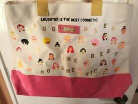 Benefit large shopper bag