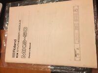 Roland MKS 50 Original User Manual