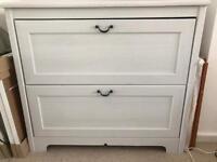 IKEA white drawers