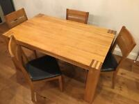 Solid Oak Dining Table for Sale