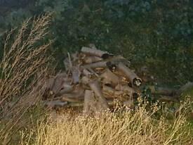 Logs various sizes