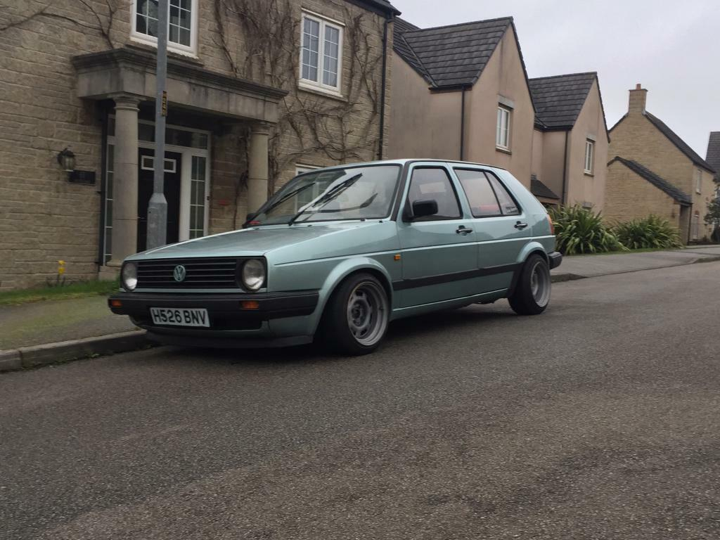 1991 volkswagen vw golf mk2 mark 2 retro classic 1 6 cl in truro cornwall gumtree. Black Bedroom Furniture Sets. Home Design Ideas