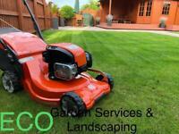 ECO Garden Services & Landscaping / paving/ slabbing/power washing/pressure washing/