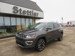 2018 JEEP COMPASS LIMITED 4X4! LEATHER! NAV! POWER LIFTGATE!