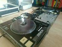 BARGAIN set of Denon DN-S3000's with mixer.