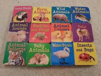 12 Small Baby Books / Puzzle, Very Good Condition
